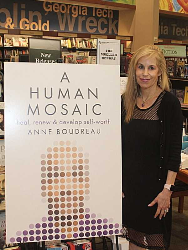Anne Boudreau, author of A Human Mosaic